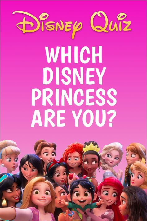 Which Disney Princess would YOU be?