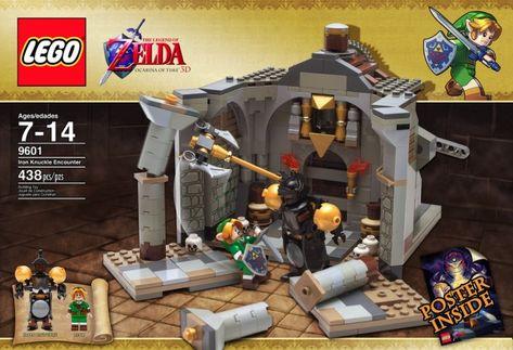 12 Sets De Lego Sobre Videojuegos Que Deberían Hacerse Realidad Legos Caja Lego Lego