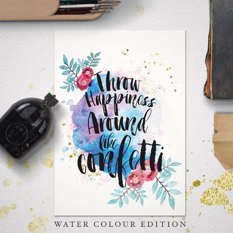 Custom quote print  quote print  wedding  wedding vows  custom quote   #weddings #guest #book #custom #inspirational #quotes #watercolour