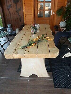 Holzgarnitur Massiv Gartenmobel Rustikal Xxxl Tisch Ebay Rustikal Gartenbank Holz Rustikal Gartenmobel
