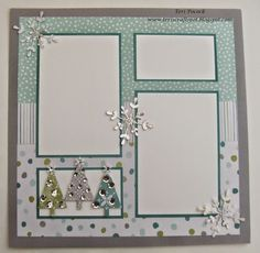 All Is Calm – Scrapbook Page 2 Stampin' Up! UK Demonstrator – Teri Pocock: All Is Calm – Scrapbook Page 2 Christmas Scrapbook Layouts, Birthday Scrapbook, Wedding Scrapbook, Baby Scrapbook, Scrapbook Paper Crafts, Scrapbook Supplies, Scrapbook Cards, Christmas Layout, Simple Christmas