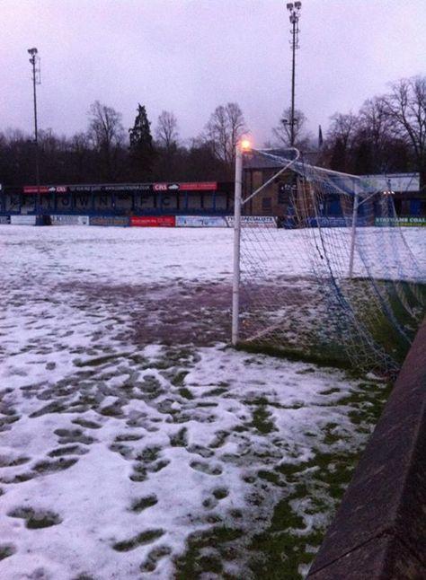 Matlock Town vs Belper Town - Match Off