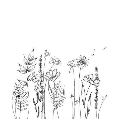 30 Simple Ways to Draw Flowers