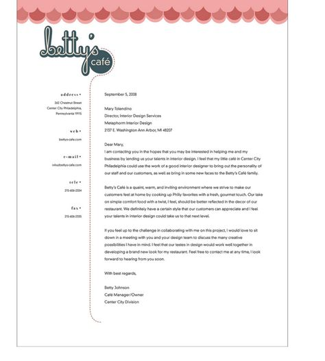 Kawf Letterhead  Identity    Letterhead Typography