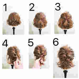 ボブ ショートボブヘアアレンジ 自分で簡単にできる髪型集 ヘア