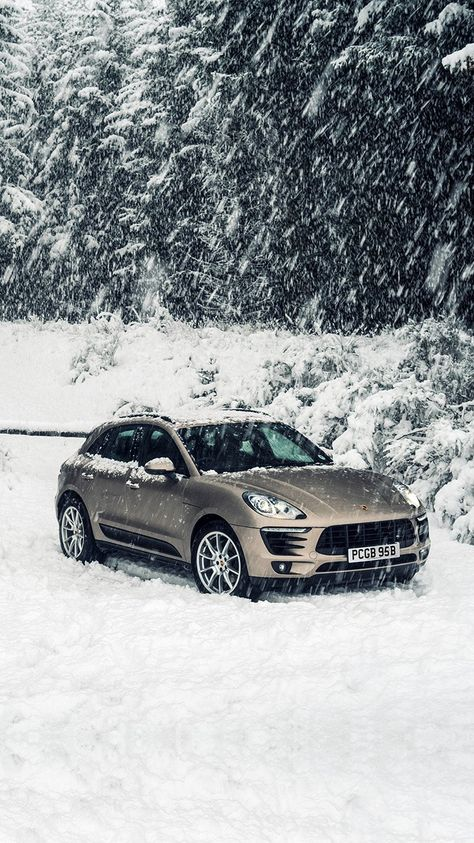 Porche Winter Snow Car Wallpaper Hd Iphone Iphone
