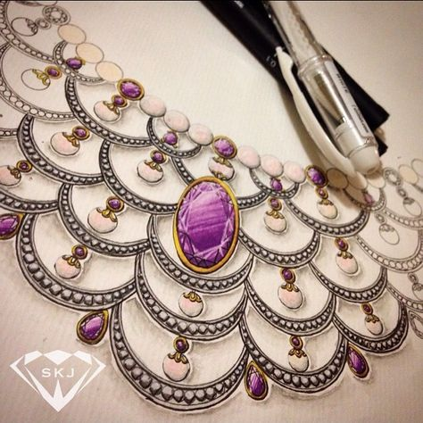 instajewelrydesign A progress shot of my pearl...