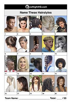 Hairstyles Picture Trivia Round Hair Quiz Hair Pictures Famous Faces