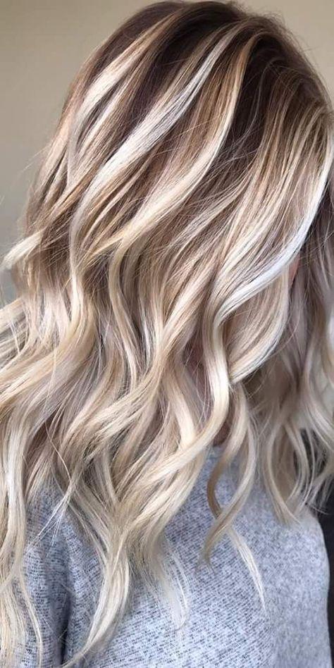 58 Blonde hairstyle-Ideen in 2021 | haarfarben, haarfarbe ...