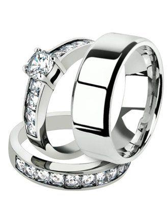 Men S Jewelry Walmart Com In 2020 Rings For Men Bridal Ring Set Wedding Rings
