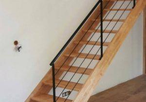 Fabrication D Un Escalier Droit En Bois Fashion Designs Con Echelle De Meunier Avec Rampe E 582ac1367b014 838x1200px Echelle De Escalier Droit Escalier Rampes