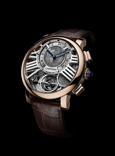 Cartier: Rotonde de Cartier Earth and Moon » Das Uhren Portal: Watchtime.net