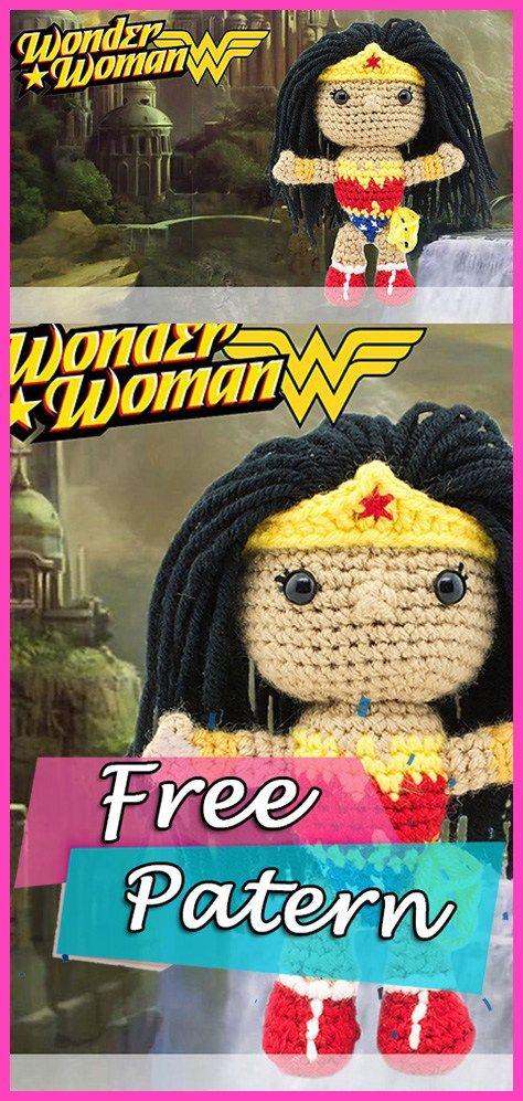 Toy Art Amigurumi Wonder Woman by Crochelandia by rose200 on ...   997x474