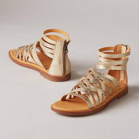 413a9dde069 PALMYRA SANDALS -- Kork-Ease ® adds its signature comfort and a refined  elegance to classic gladiator sandals. Feminine
