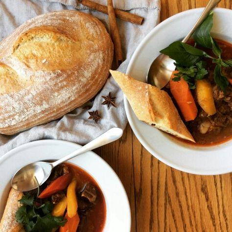 Bo kho. Vietnamese beef stew.