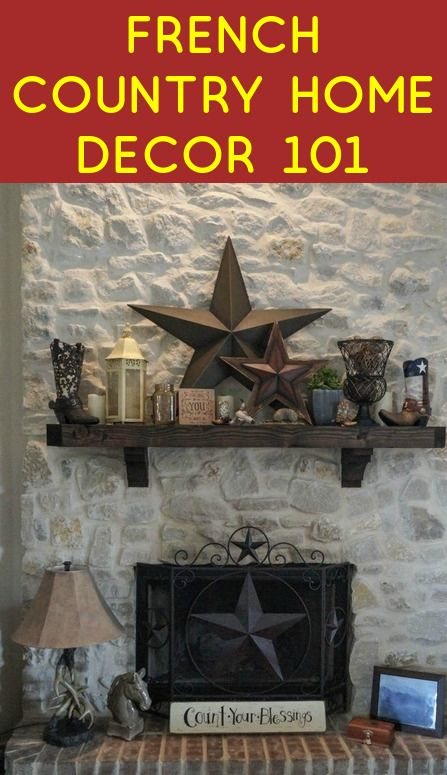 French Country Home Decor 101 | Country style living room ...