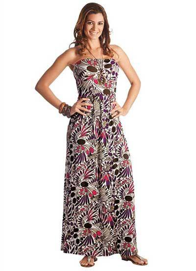 74586900ea3d Modelos de Vestidos Simples Curtos e Longos para o Dia a Dia | maria ...