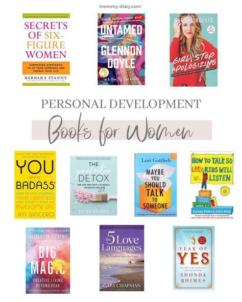 10 Personal Development Books For Women