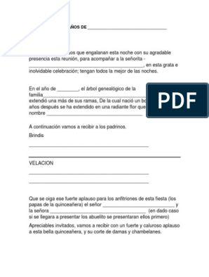 Protocolo 15 Añero