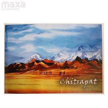 Chitrapat Watercolour Paper Blocks 640 Gsm Paper Texture