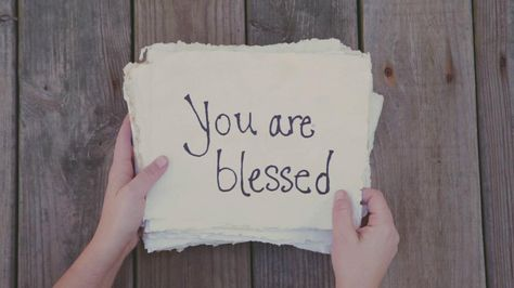 You Are Blessed (the Beatitudes Song) on Vimeo
