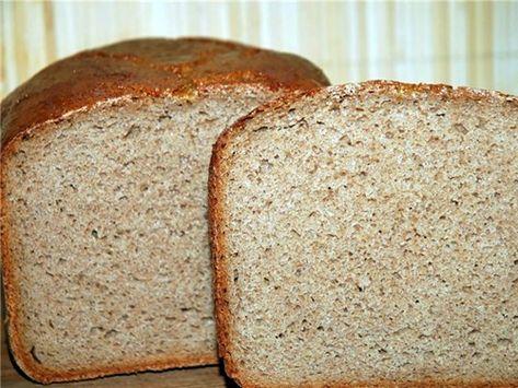 серый хлеб в хлебопечке мулинекс