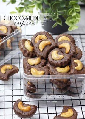 Choco Mede Cookies Di 2020 Resep Masakan Natal Resep Kue Kue