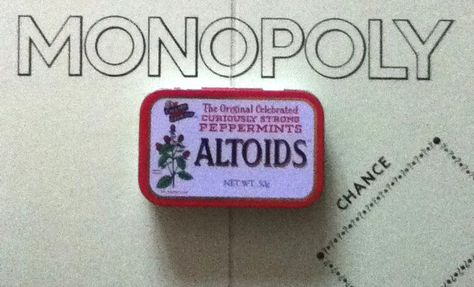 Altopoly - The Ultimate Tin Game #game #board_gane #pocked_sized #Altoids