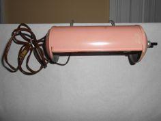 Art Deco Vintage Antique Headboard Bed Light Lamp Fancy Pink