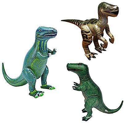 Amazon Com 15 H Around Inflatable Dinosaurs Set Of 3 Including T