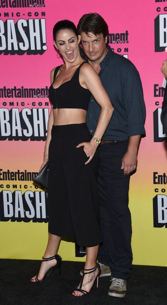 Nathan Fillion attends the Entertainment Weekly Comic-Con Celebration.