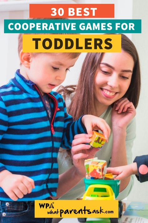 30 Best Cooperative Games And Activities For Toddlers And Preschoolers - What Parents Ask