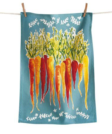 Loving this Blue Carrots Dish Towel on #zulily! #zulilyfinds