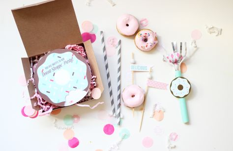 donut printables oh happy day - HD1600×1041