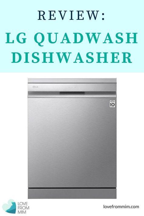 Lg Dishwasher Reviews Dishwasher Reviews Organised Mum Best