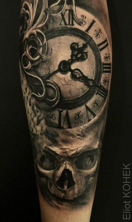 Tatouage Horloge Dark Tattoos That I Love Pinte