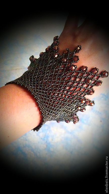 This is amazing bohemian style jewelry - i love it for any of the boho outfits Stylish outfit ideas for Women.Cuffs for tobacco-bronze