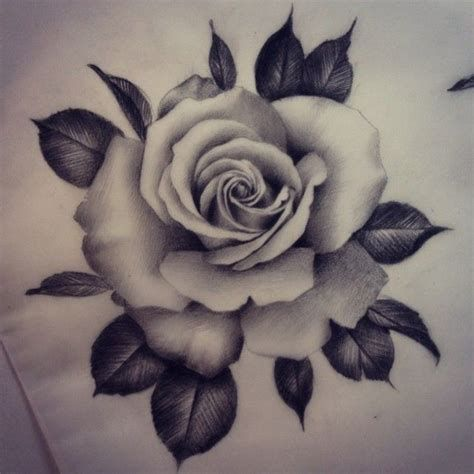 25 Best Realistic Rose Tattoo Ideas On Pinterest
