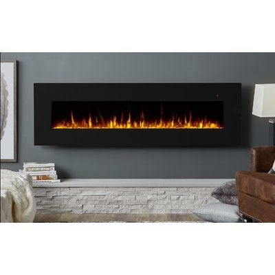 Real Flame Corretto Wall Mounted Electric Fireplace Electric
