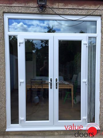 Open up your living space with French Doors from Value Doors //.valuedoors.co.uk/patio-french-doors/upvc-french-doors   uPVC Doors   Pinterest ... & Open up your living space with French Doors from Value Doors http ... pezcame.com