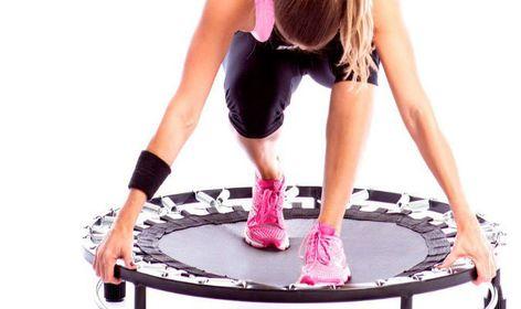beneficios de ejercicios con trampolin