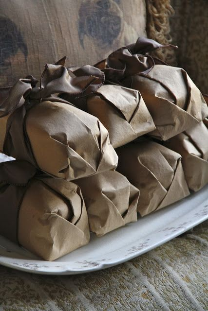 Ideas For Holiday Cookies Wrapping Gift Packaging