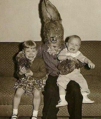 Cursed Images Easter Bunny Pictures Easter Humor Creepy Vintage