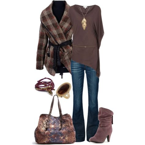 """""""fall leaves"""" by vbean on Polyvore"""