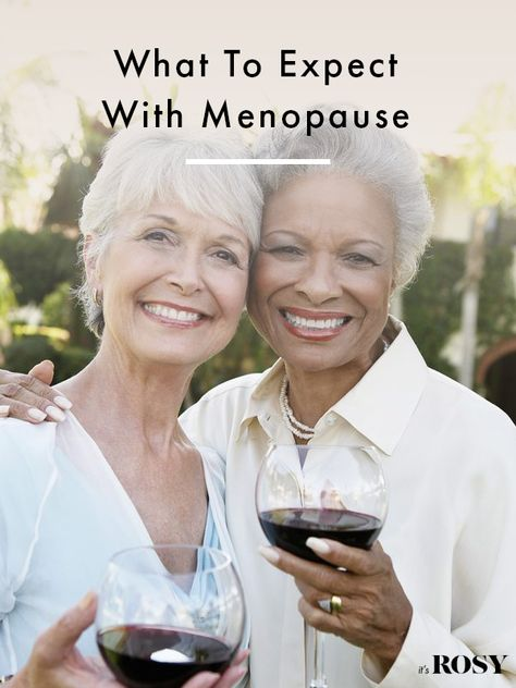 Tips and advice so you know what to expect with menopause. #menopause