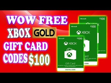 How To Get Free Xbox Codes Or Free Xbox Live Codes Or Gold Or Xbox