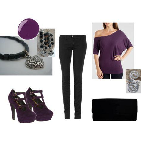 Purple Fall Outfits