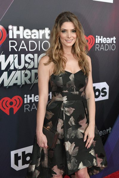 Ashley Greene attends the 2018 iHeartRadio Music Awards which broadcasted live on TBS, TNT, and truTV at The Forum.