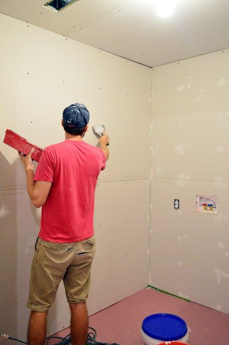 How To Tape Mud And Sand Drywall Drywall Drywall Tape