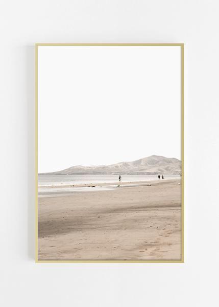 Neutral Tones Beach Print Beach Wall Art With Images Beach